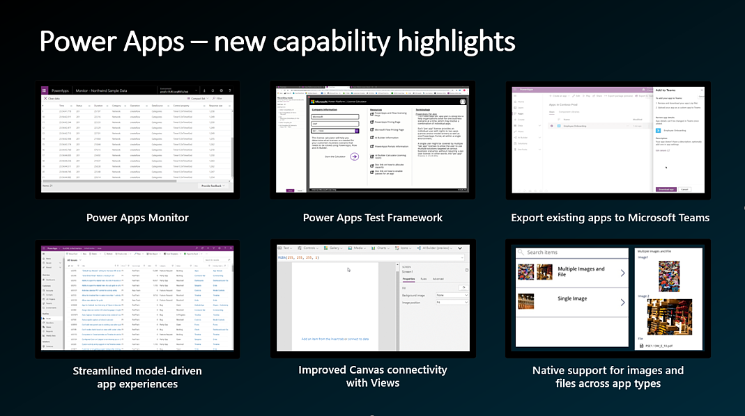 PowerApps New Capabilities